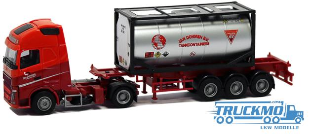 AWM Dohmen Volvo FH12 XL 20ft Tankcontainer-Sattelzug 75244