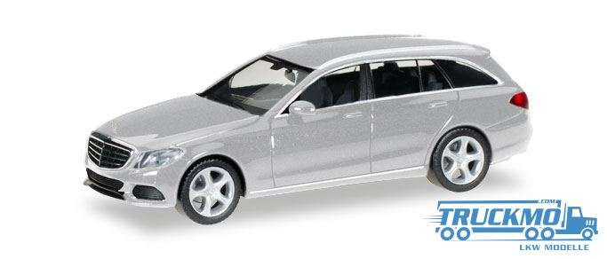 Herpa Mercedes-Benz C-Klasse T-Modell Elegance silber metallic 038393-004