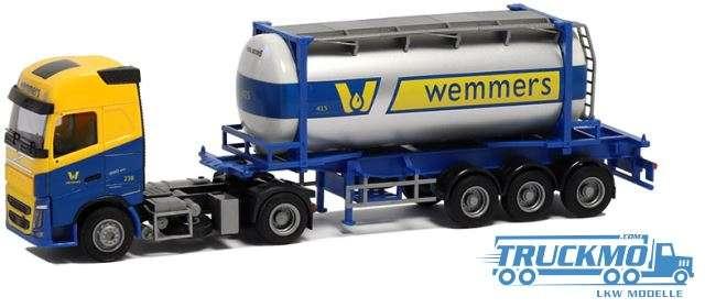 "AWM Wemmers Volvo ""12"" Glop. - Swapbody Sattelzug LKW Modell"