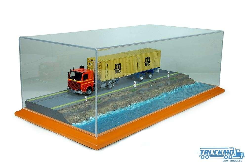 Tekno Vitrine Diorama Wassergelände 74983