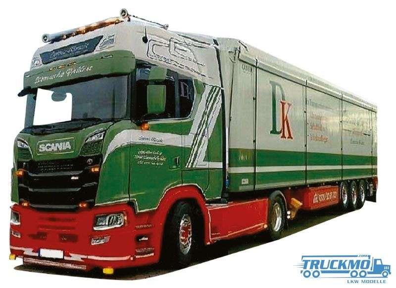 AWM Kirscht Scania S Schubbodenauflieger 9274.51