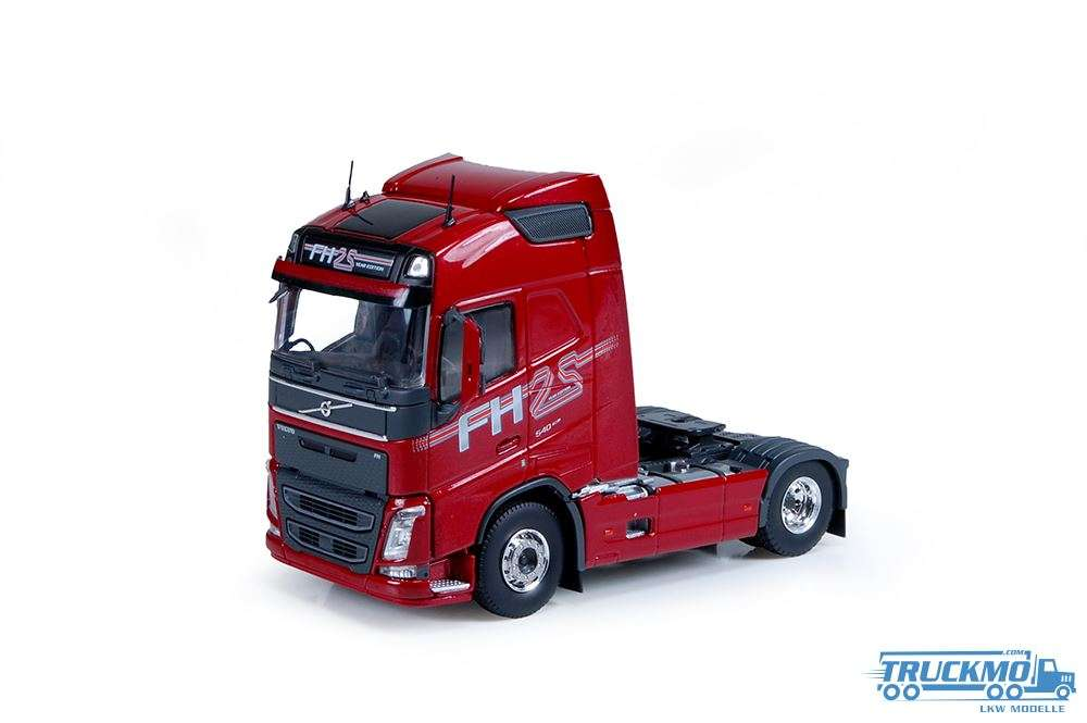Tekno T.B.P. Volvo FH04 Globetrotter 4x2 - 25 Years Globetrotter rot 74503