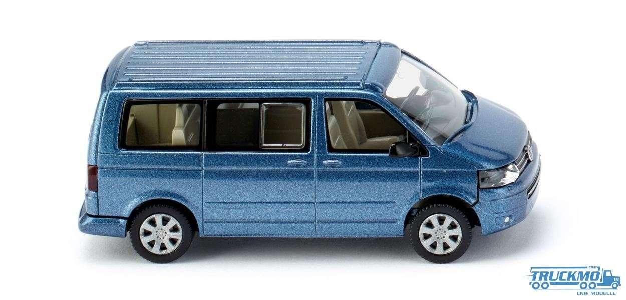 Wiking Volkswagen T5 GP Californie acapulcoblau metallic 027340