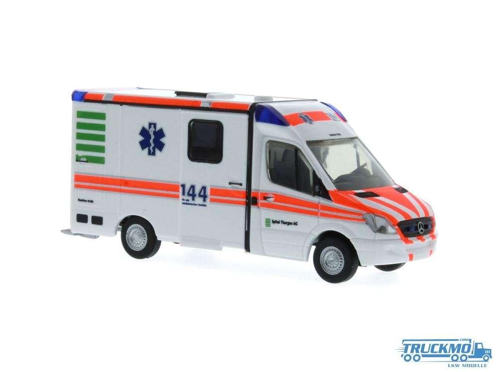 Rietze Spital Thurgau Mercedes Benz RTW Strobel 61738