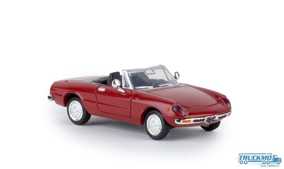 Brekina Alfa Romeo Spider 2000 rosso corso 29600