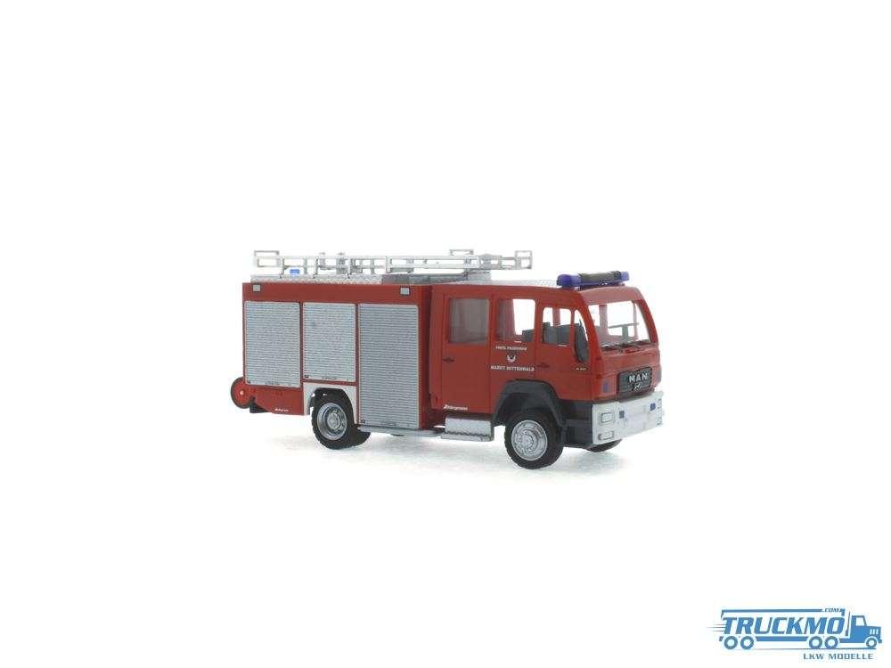 Rietze Modelle Feuerwehr Mittenwald MAN HLF16 Schlingmann 68266