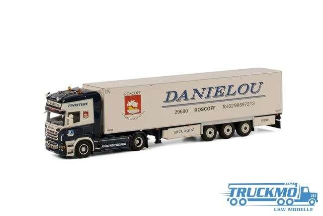 WSI Daniélou Scania R Topline Kühlauflieger Thermoking (3 Achs)