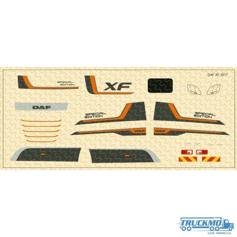 Decal DAF XF 106 Special Edition 1:87 12D-0552.0