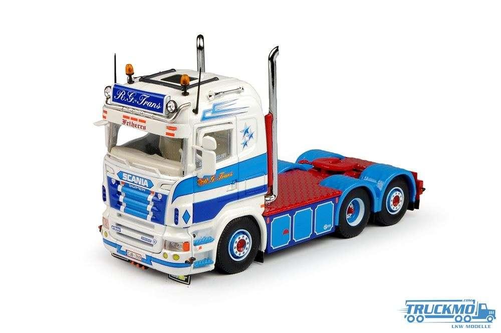 Tekno RG Trans LKW Modell Scania R5 Highline 69289