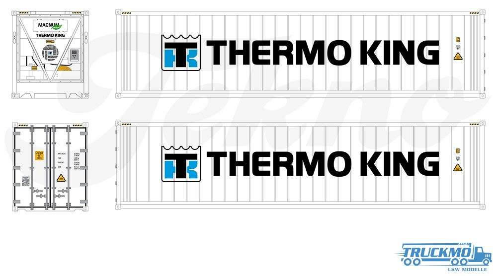 Tekno Themo King Belgie Losse 40ft Kühlcontainer 81584