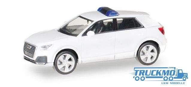 Herpa MiniKit: Audi Q2, weiß / unbedruckt 013161