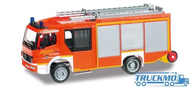 Herpa Freiwillige Feuerwehr Sülfeld Mercedes-Benz Atego Ziegler Z-Cab