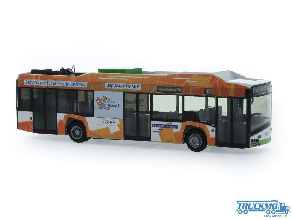 Rietze üstra Hannover Solaris Urbino 12 14 electric 73033