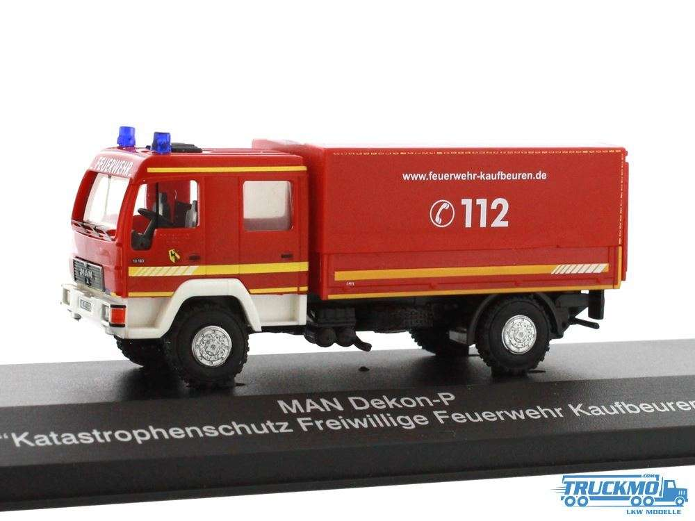 Rietze Feuerwehr Kaufbeuren MAN Dekon-P Katastrophenschutz 68039