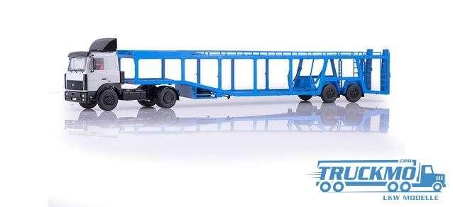 Start Scale Models MAZ 5432 car transporter 83SSM7052