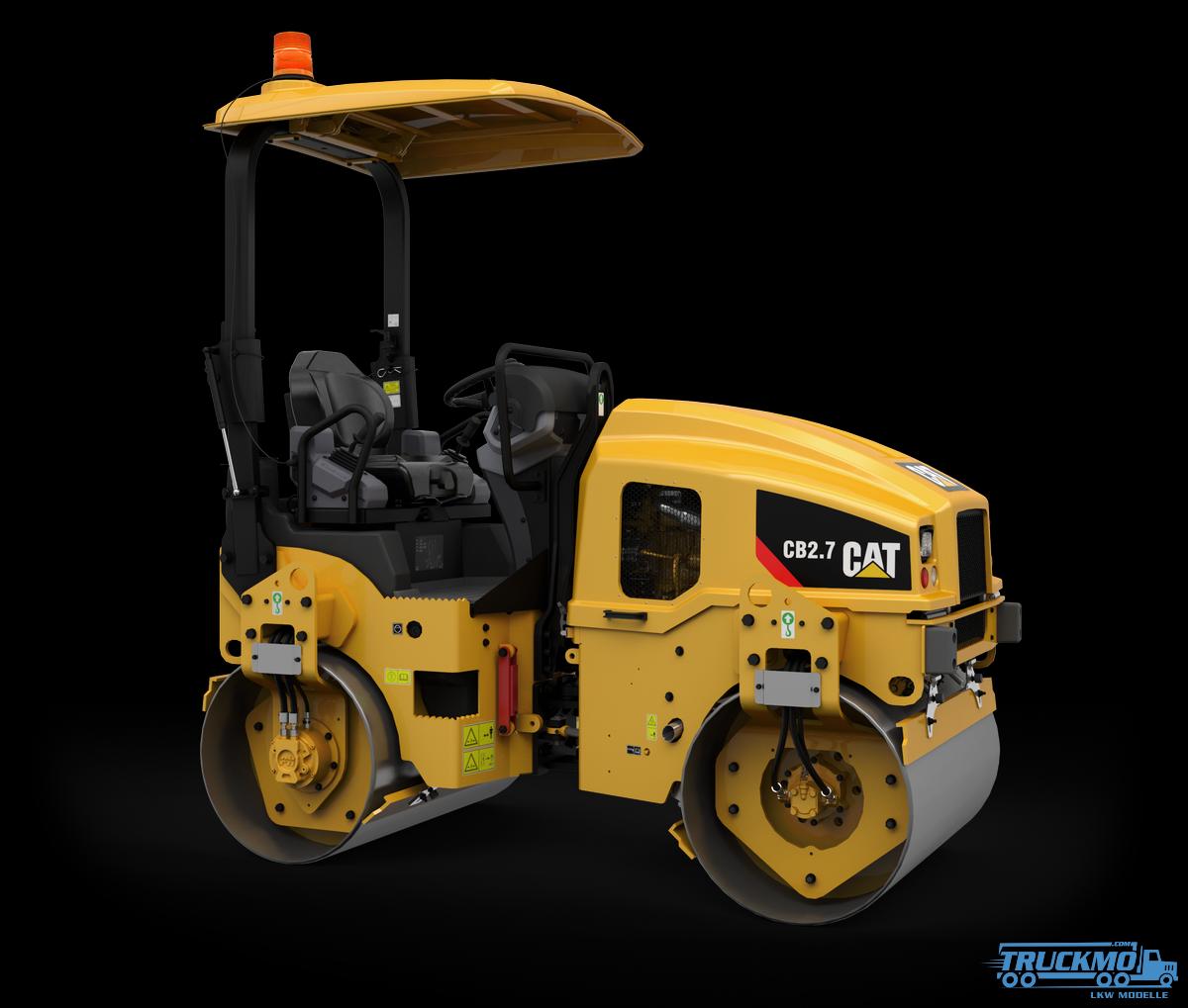 Diecast Masters CAT CB-2.7 Kompaktiergerät 85593