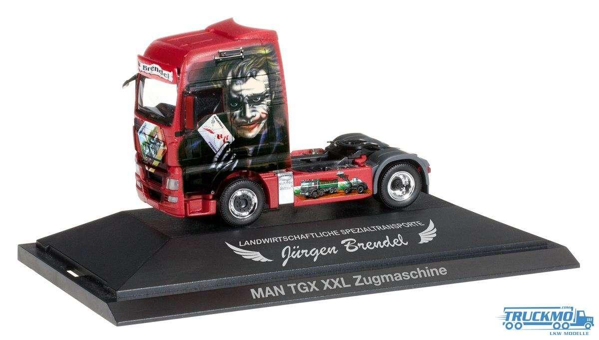 Herpa Brendel / Joker LKW Modell MAN TGX XXL Zugmaschine 110761