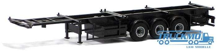 AWM Container Chassis 40ft. Trailer 3achs (schwarz) 480281
