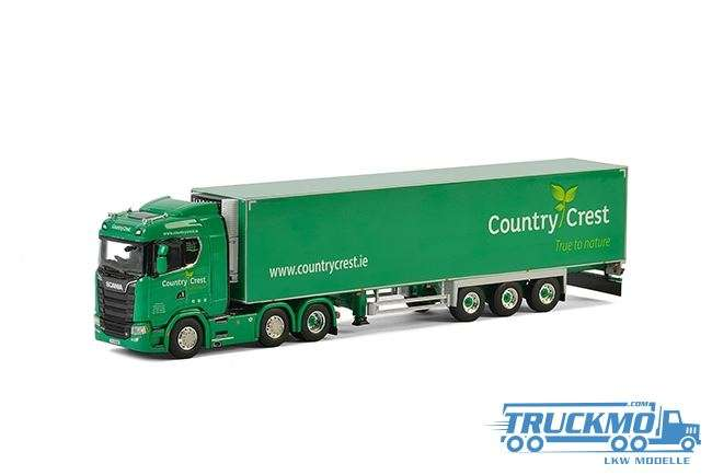 WSI Country Crest Scania S CS20N Kühlauflieger Carrier 01-2282