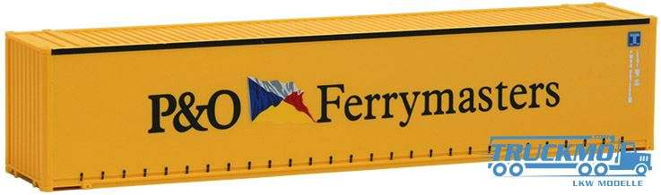 AWM P&O Ferrymasters, 45ft. open side Container 491731
