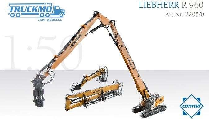 Conrad Liebherr R 960 Abbruchbagger 2205/0