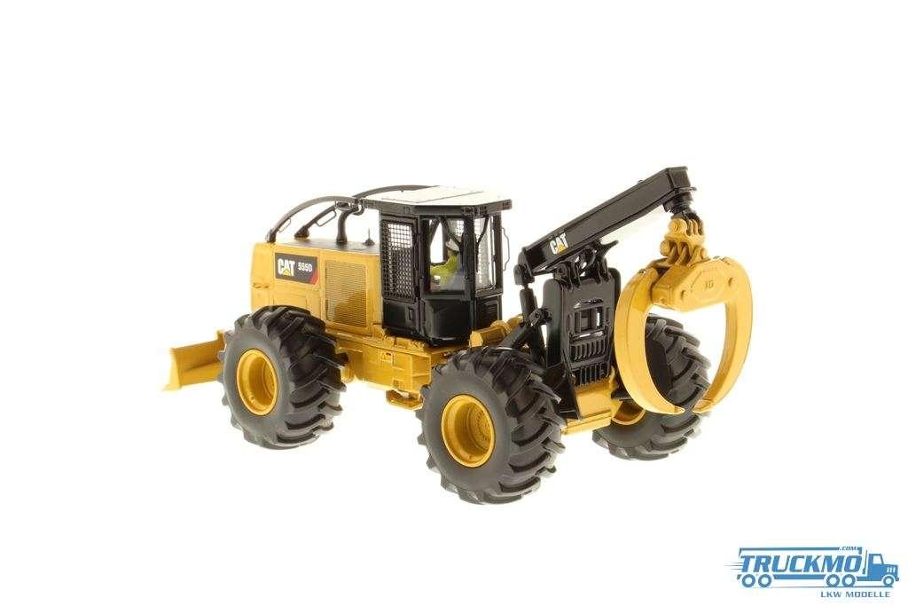 Diecast Masters CAT 55D Forstmaschine Skidder 85932
