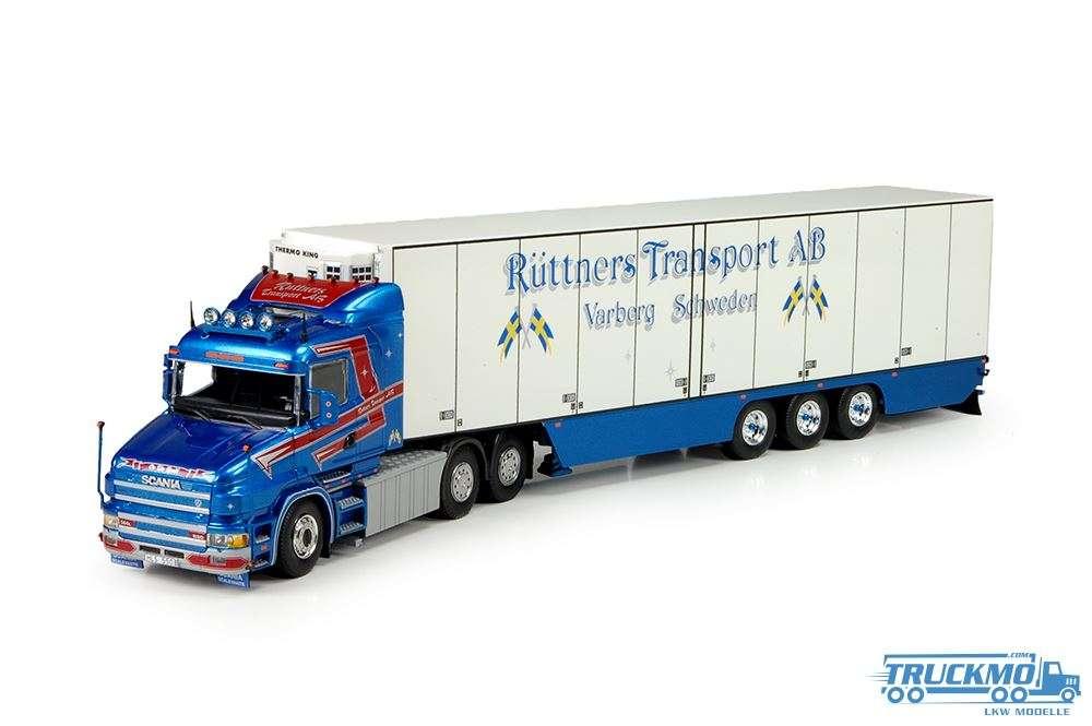 Tekno Ruttner LKW Modell Scania T4 mit Kühlauflieger 69664