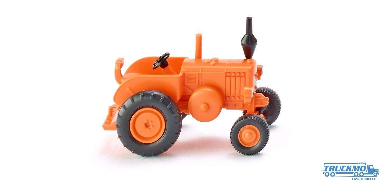 Wiking Pampa tractor rotorange 088049
