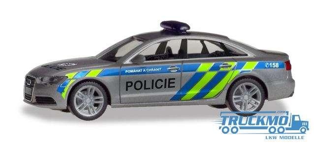 Herpa Polizei Prag Audi A6 Limousine 094429