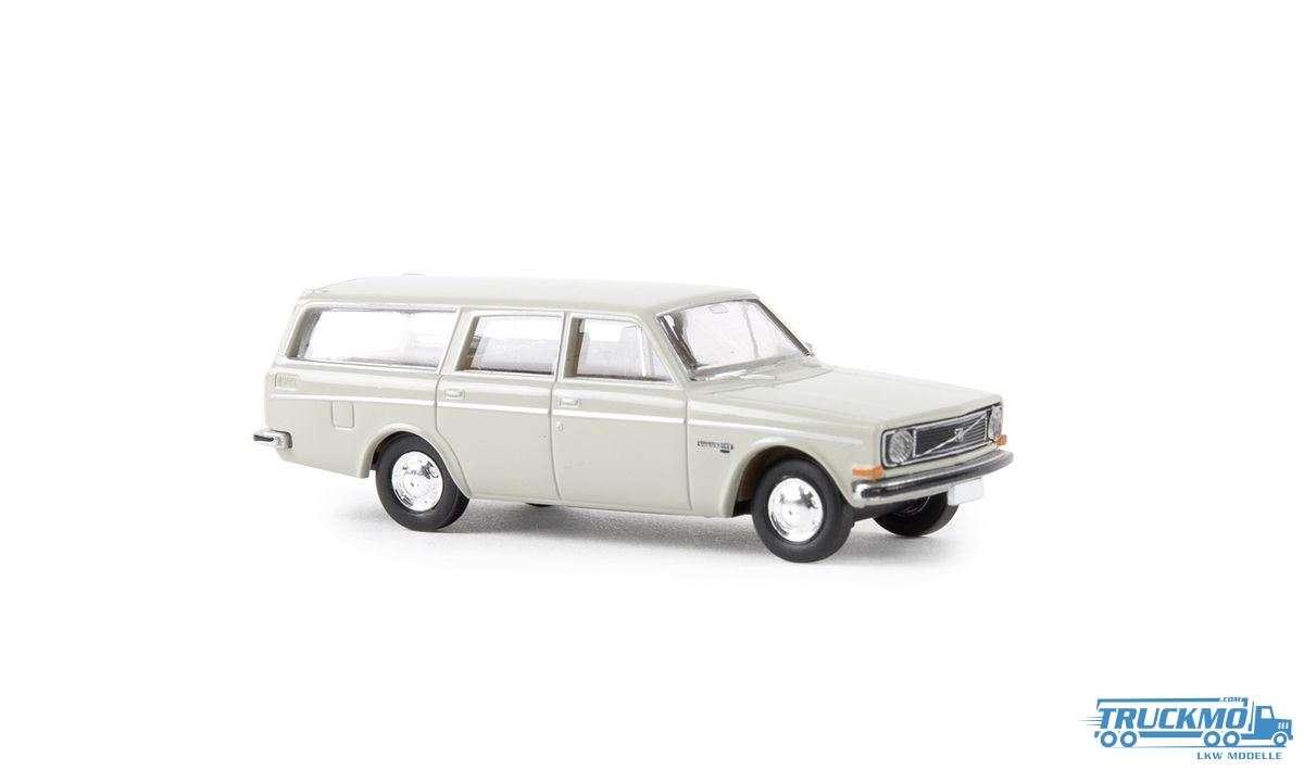 1//87 Brekina Volvo 144 weiß 29412