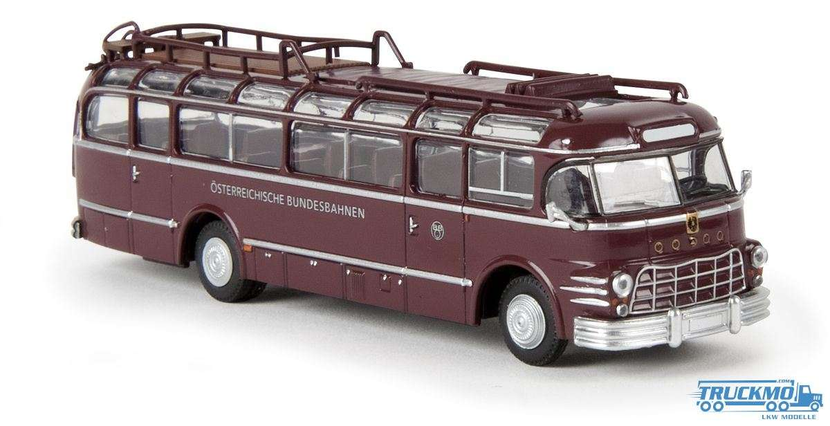 Brekina ÖBB Sauerer 5 GVF-U Bus Starline 58060