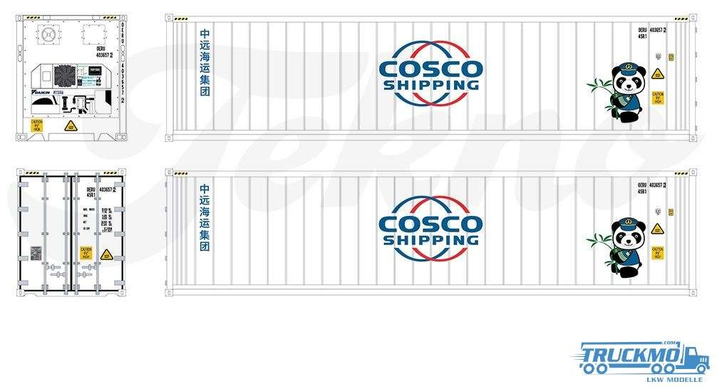 Tekno TB Cosco 40ft Kühlcontainer 76195