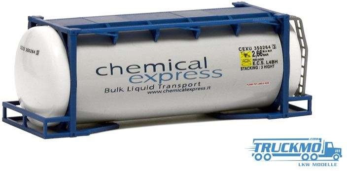 AWM Chemical Express 24ft. Tankcontainer 492102