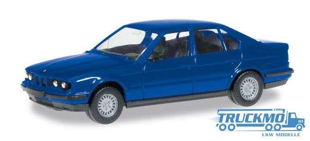 Herpa MiniKit: BMW 5 E 34, ultramarin blue 012201-006