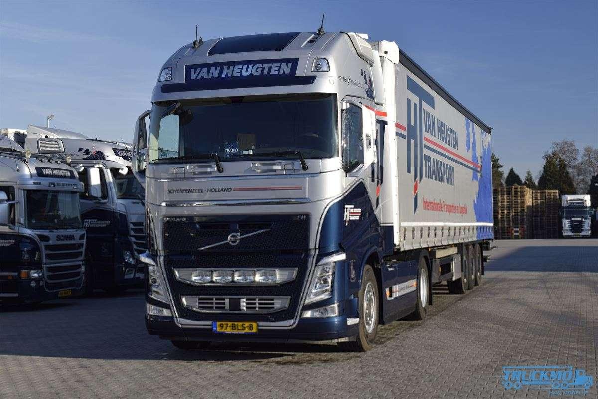WSI Van Heugten Volvo FH4 Globetrotter XL Planenauflieger 01-2947