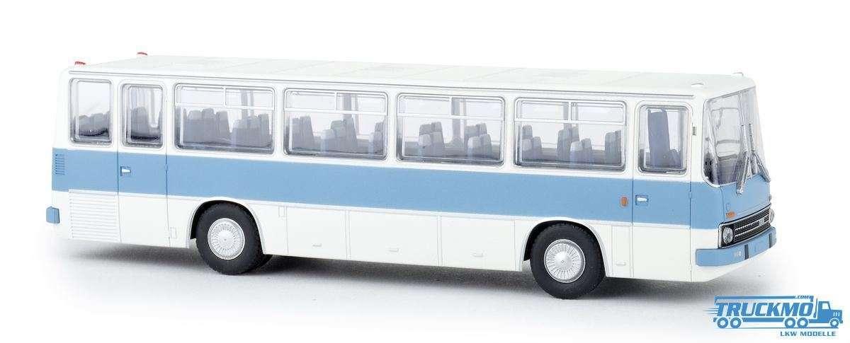 Brekina Ikaurs 255 Reisebus weiß pastellblau 59651