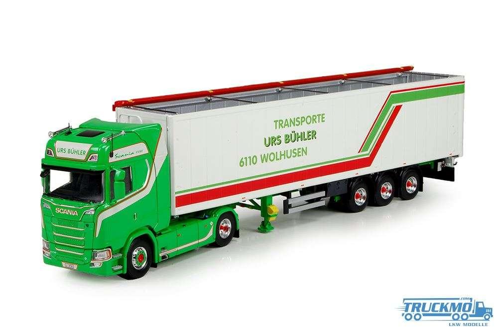 Tekno Urs Buehler Scania S730 Cargo Floor trailer 71310