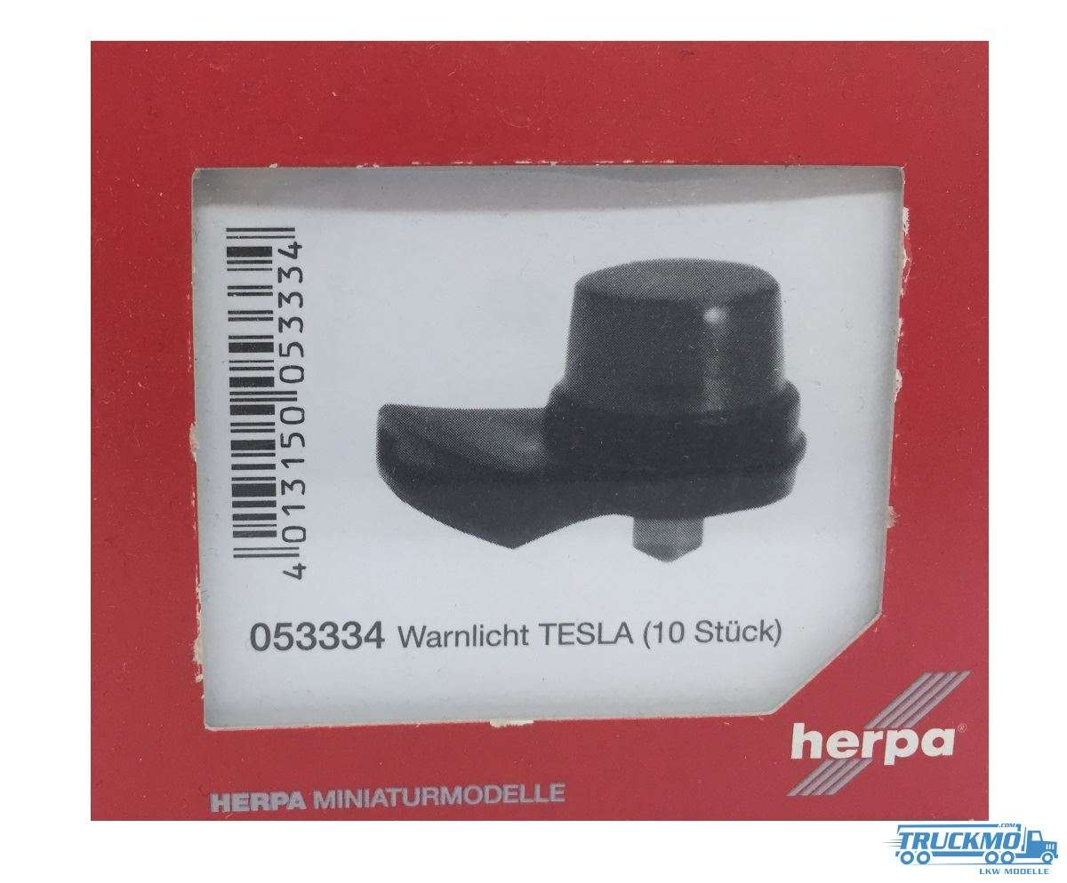 Herpa Warnlicht TESLA (10 Stück) 053334