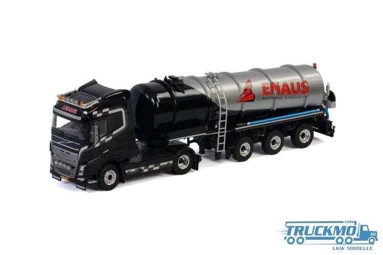 WSI Emaus Transport Volvo FH4 Globetrotter Tankauflieger Vakuum 01-2697