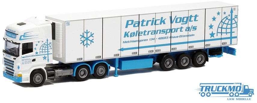 AWM Patrick Vogtt Scania R09 Topline Kühlauflieger 74967