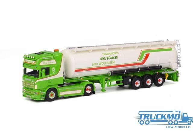 WSI Bühler Scania R Topline Siloauflieger 01-1536
