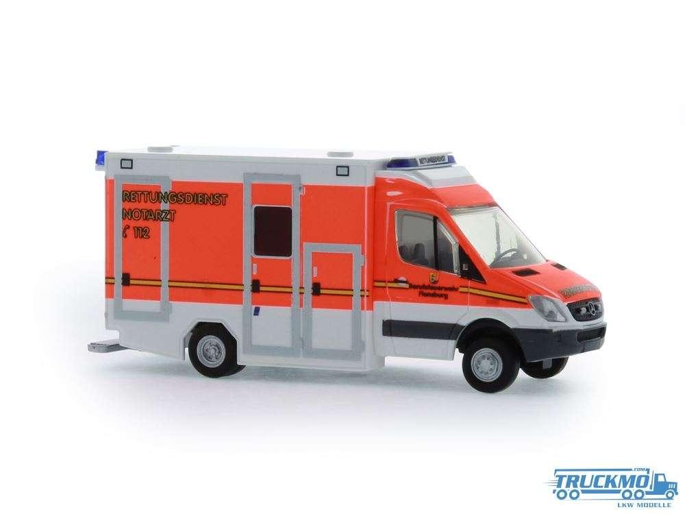 Rietze BF Flensburg GSF RTW Rettungsdienst 61717