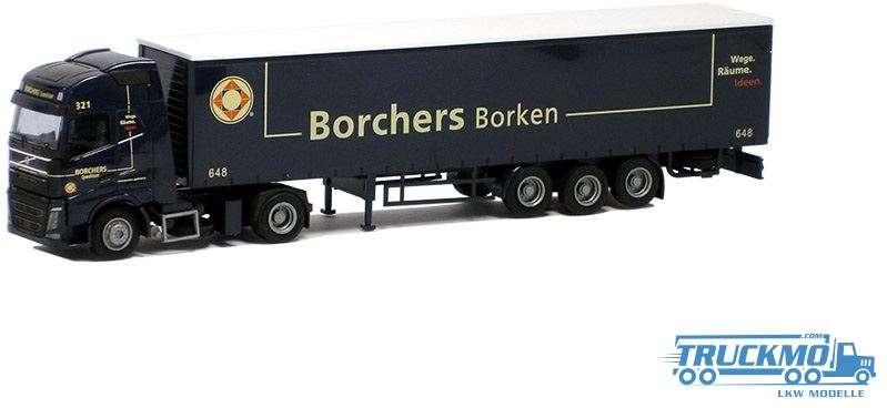 "AWM Borchers LKW Volvo ""12"" Glob./Aerop. - G-KSZ Modell"