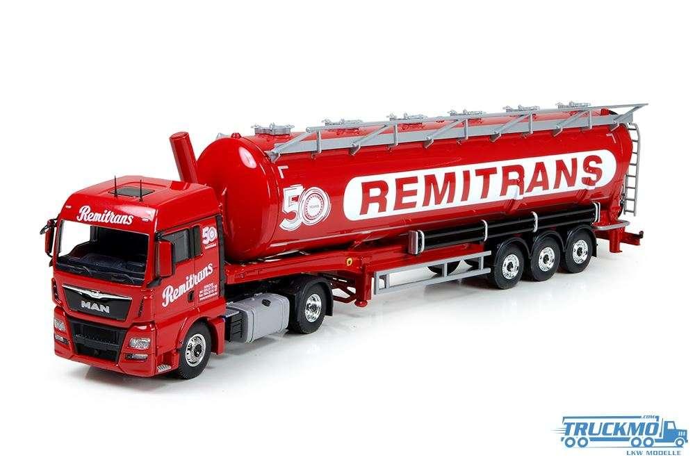 Tekno Remitrans MAN TGX XLX Euro 6 Siloauflieger 71949