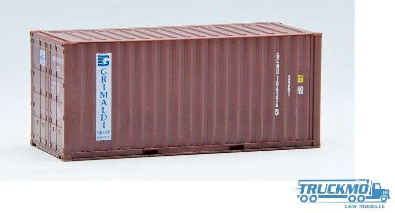 AWM Grimaldi 20ft. Container gerippt 491376