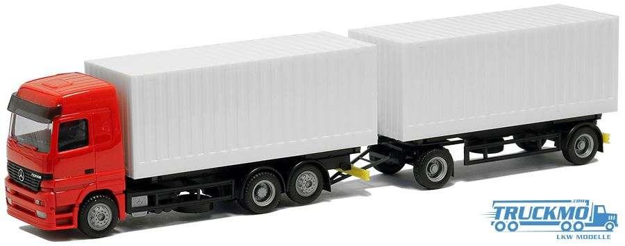 AWM Mercedes Benz Actros LH Wechsel Cargo Boxen Hängerzug BM000436