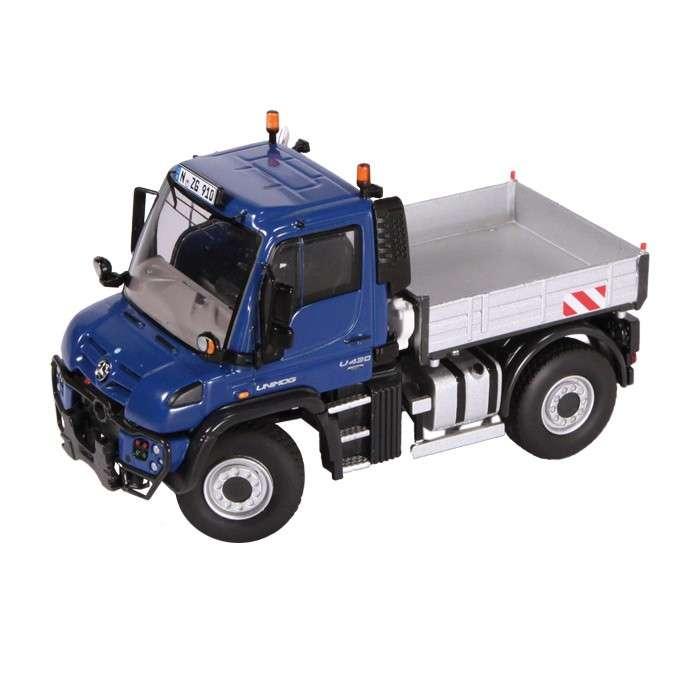 NZG Mercedes Benz Unimog U400 blau 910/20