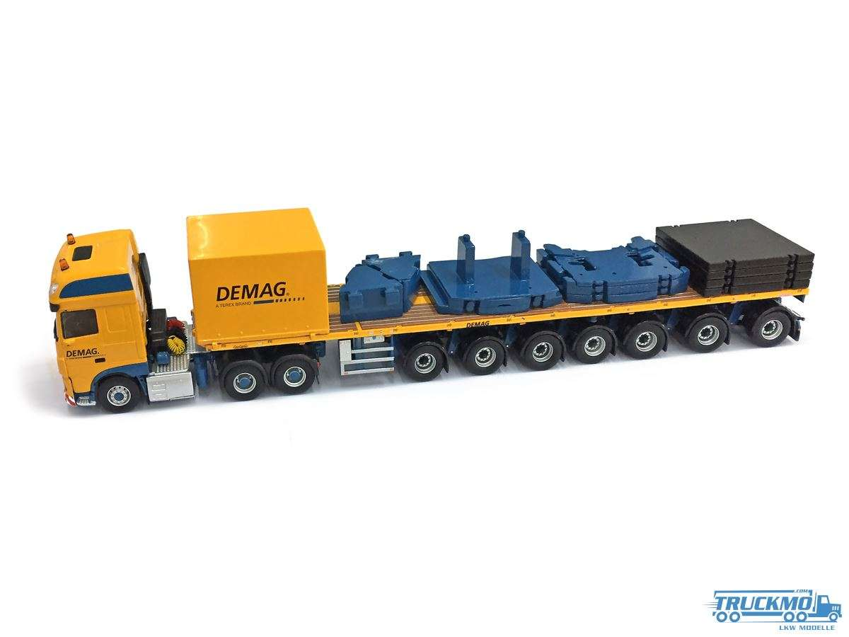 IMC Demag DAF Super Space Cab Euro 6 Ballasttrailer 33-0055