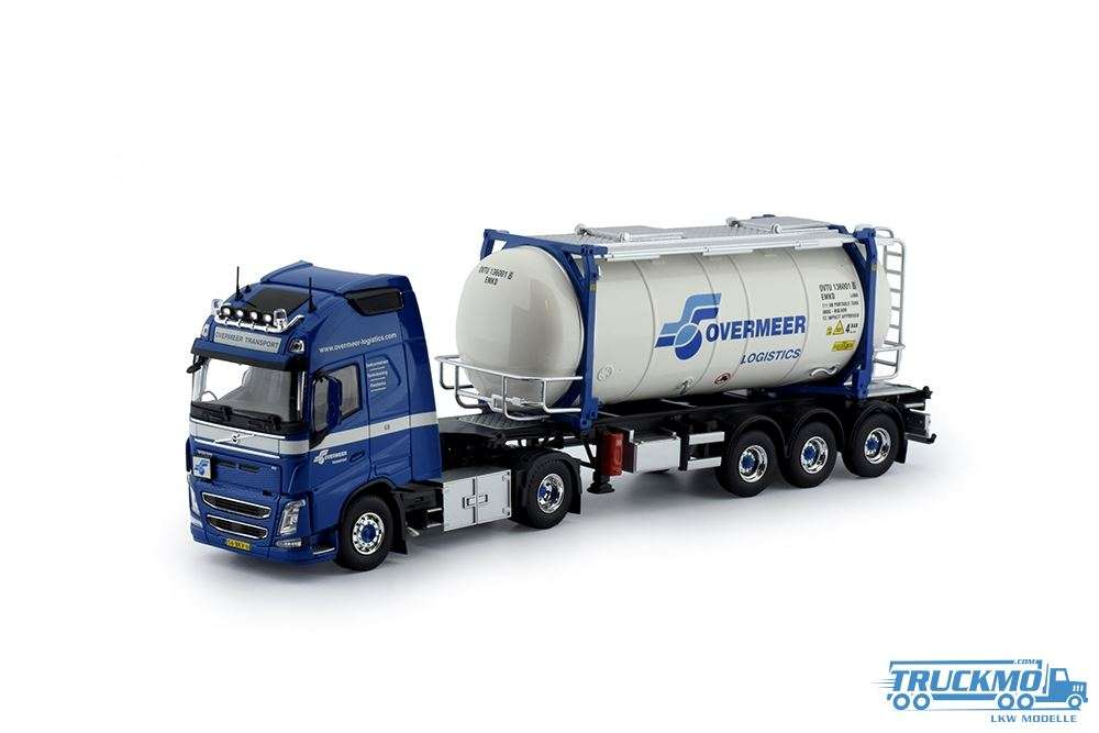 Tekno Overmeer Transport Volvo FH04 Globetrotter Tankcontainer 76252