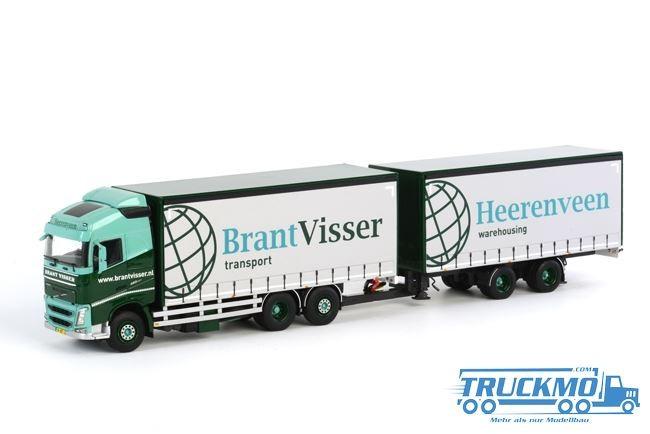 WSI Brant Visser Volvo FH4 Globetrotter Hängerzug